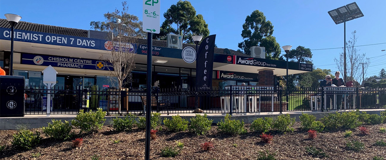 Chisholm Centre: An Outdoor Dining Destination In Winston Hills