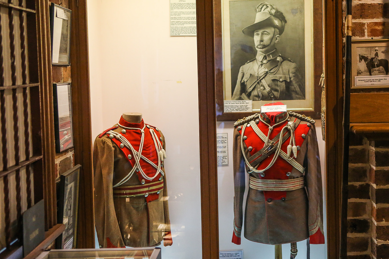 Lancer Barracks uniforms