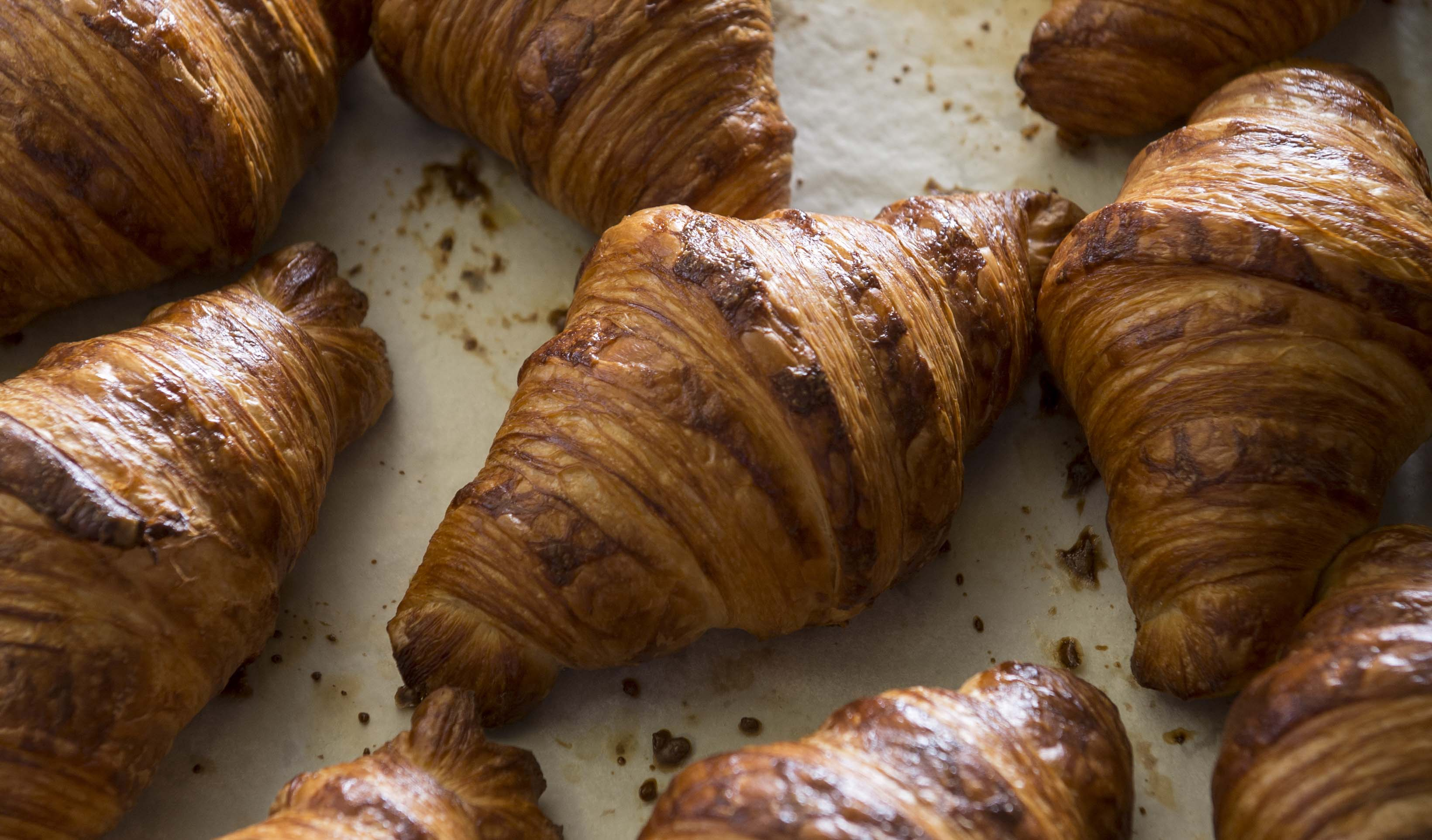 Croissants at Bourke Street Bakery