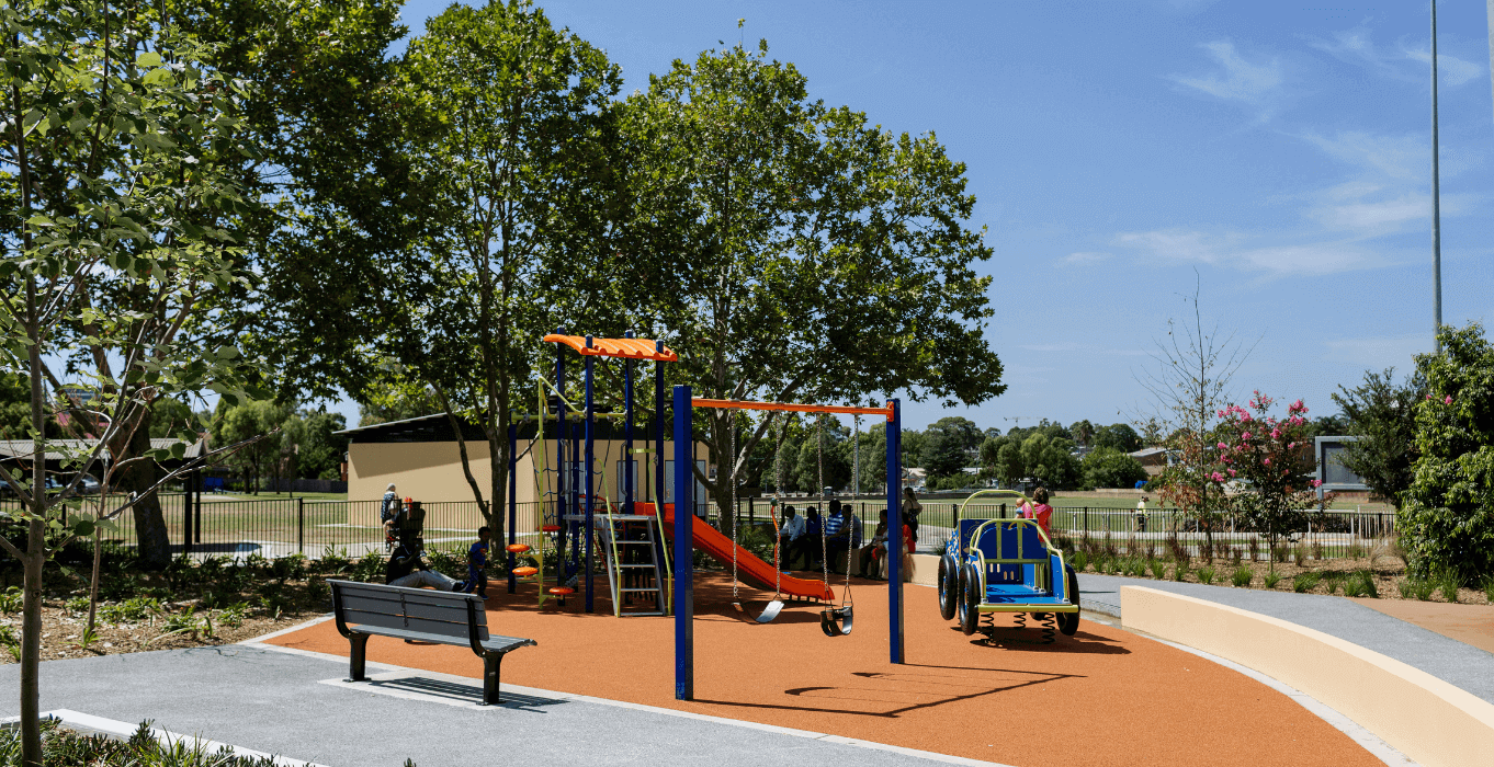 Ollie Webb Reserve Play Area