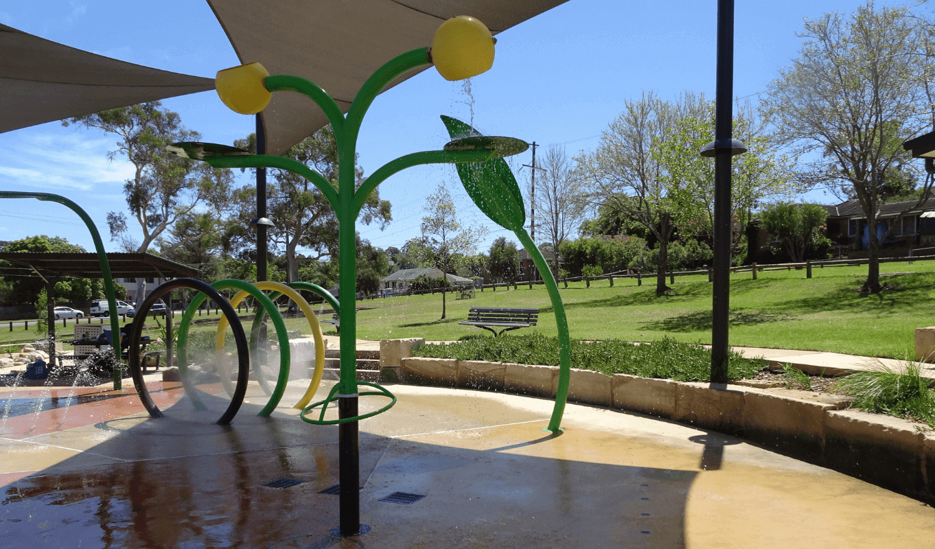 Philip Ruddock Water Playground