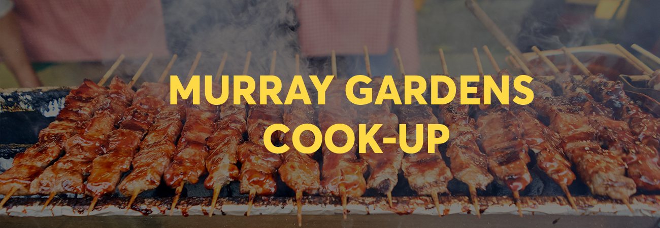 """mURRAY gARDENS cOOK uP Australia Day"""