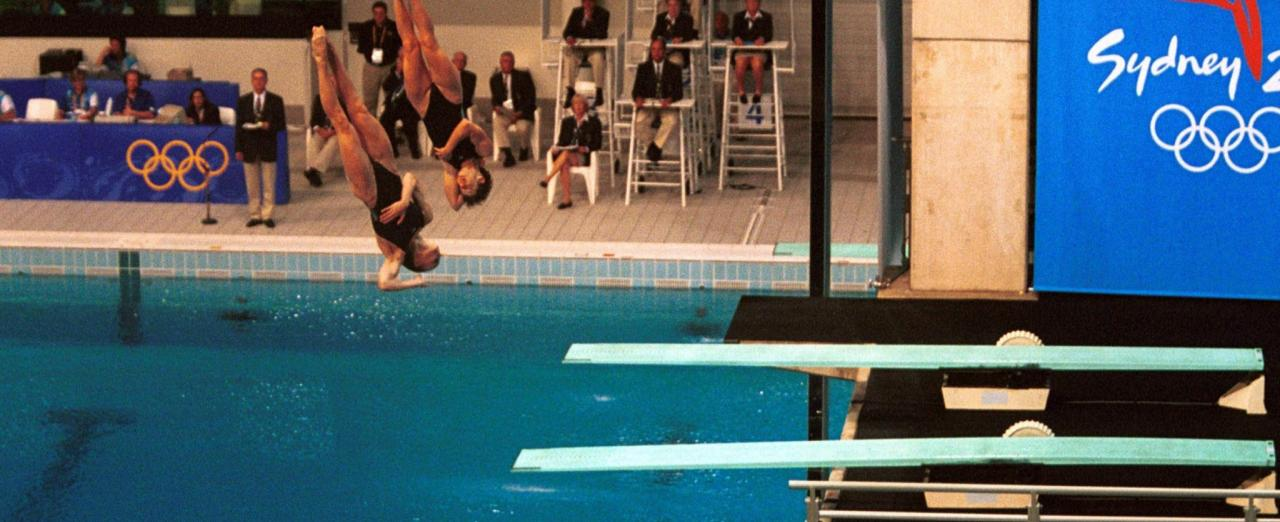 Dive Into History at Sydney Olympic Park Aquatic Centre