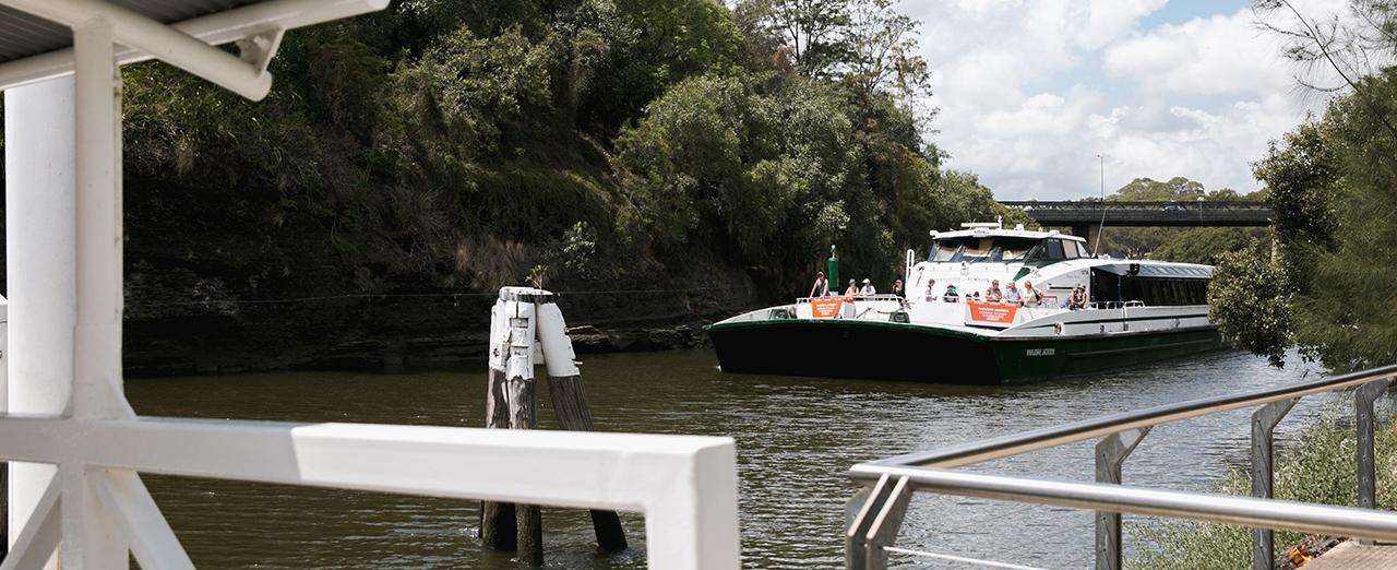 Rivercat on the Parramatta River