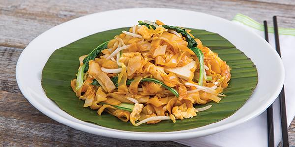 Vegetarian Char Koay Teow with Egg Papparich Supplied