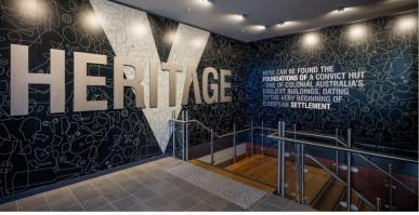 foyer of the Philip Ruddock Heritage Centre
