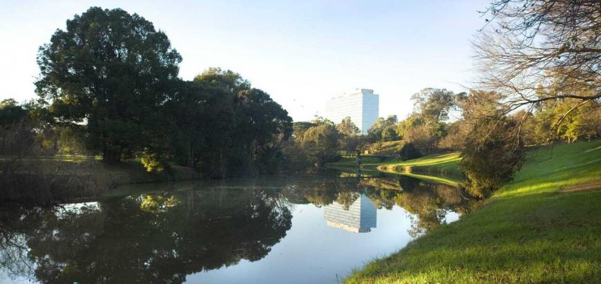 View of Parramatta River and Park